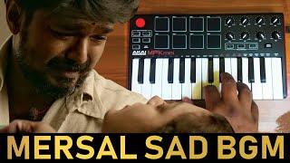Mersal - Heart Breaking Sad Bgm Cover By Raj Bharath #ThalapathyVijay , A.R. Rahman #Ringtone