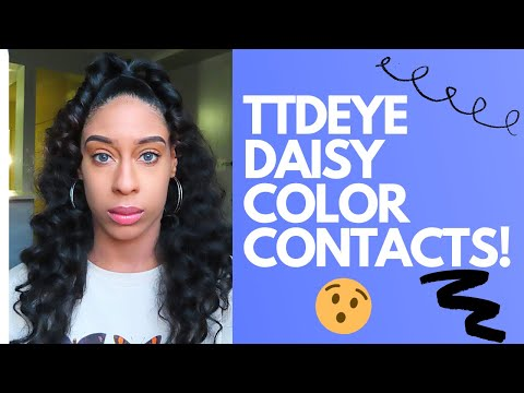 Ttdeye Contact Lens Review Youtube Hi, i'm daisy brown 林恬恬, a mixed american and taiwanese media personality. ttdeye contact lens review youtube