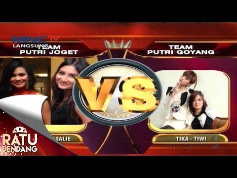 Team Putri Joget VS Team Putri Goyang - Ratu Dendang (7/9)