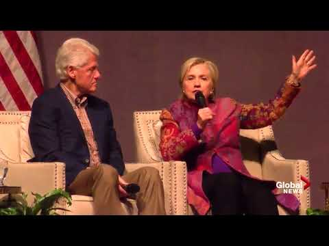 Bill and Hillary Clinton reminisce about election 25 years l