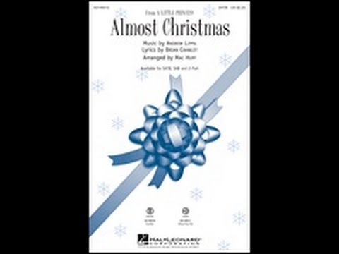 Almost Christmas (SATB) - Arranged by Mac Huff