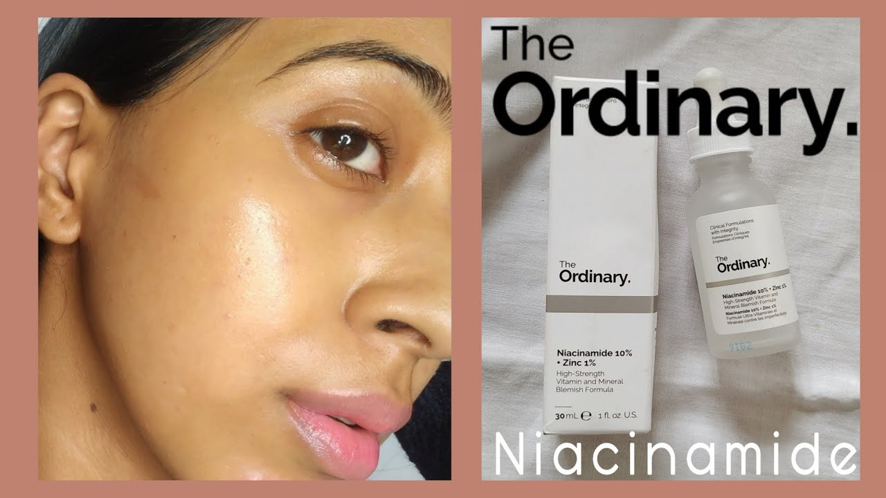 The Ordinary Niacinamide 10 Zinc 1 Review On Dry Skin Youtube