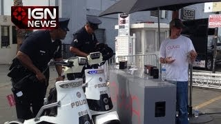 IGN News - Cops Called to Shut Down Ouya - E3 2013
