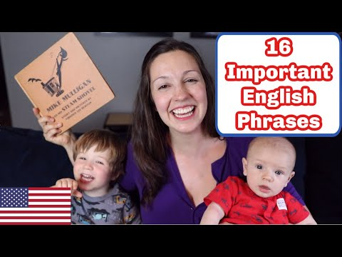 16 Important English Phrases: Read a Story With Me