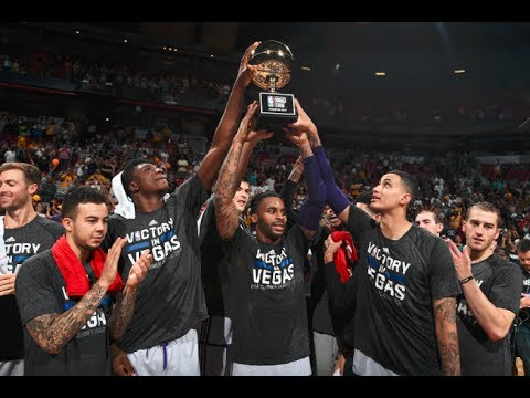 Best of the 2017 NBA Summer League Champions Los Angeles Lakers