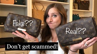 How To AVOID Buying a Replica LV Favorite! Authentication Tips