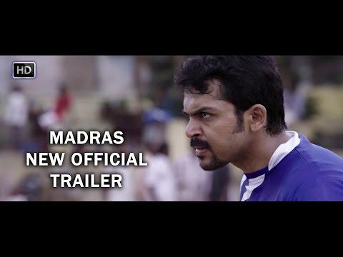 Madras New Official Trailer   Karthi, Catherine Tresa   Pa Ranjith   Santhosh Narayanan