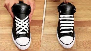 5 Coolest Ways To Tie Shoe Laces
