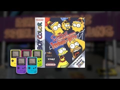 Gameplay : Simpsons Treehouse of Horror [Gameboy Color]