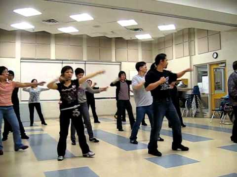 Kung Fu Fighting '07 - Winnie Yu (Dance & Walk thru)