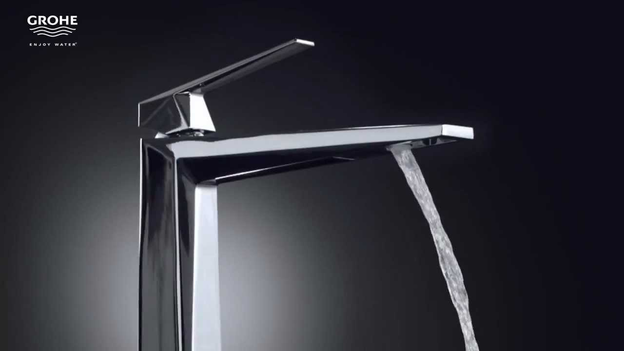 grohe allure brilliant like a diamond youtube. Black Bedroom Furniture Sets. Home Design Ideas