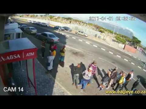 4 MINUTE VIDEO OFF FATAL CASH-IN-TRANSIT HEIST IN CAPE TOWN