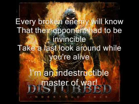 Disturbed   Indestructible lyrics