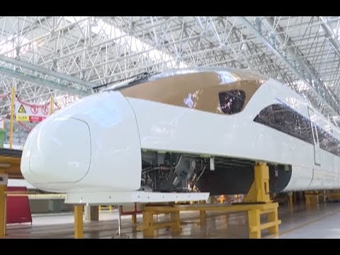 Thumbnail: China Holds Complete Intellectual Property Rights of Latest Models of Bullet Train