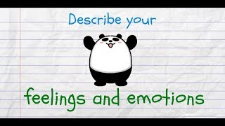 Describe Your Feelings and Emotions in English