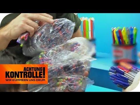 ZOLL beschlagnahmt Stifte: Dreiste  FÄLSCHUNGEN?   Achtung Kontrolle   kabel eins