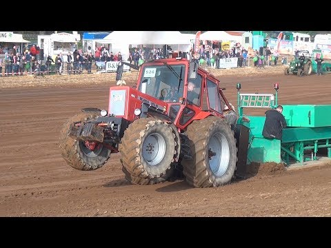 BELARUS MTS 82 Full Pull in Panten 2017 Trecker Treck Deutsc