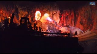Harry Potter and the Escape from Gringotts Ride - Universal Studios - Orlando, Florida