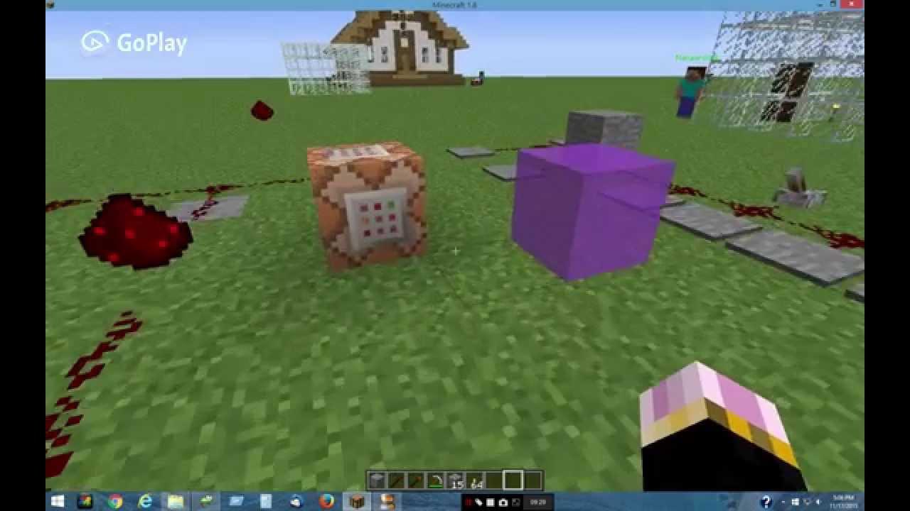 Custom NPC scripted block part 1 of 3 OMG