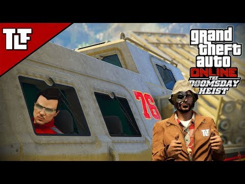 GTA V Online: The Doomsday Heist Act III Setups | (Stream Ar