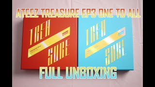Baixar ATEEZ TREASURE EP3 ONE TO ALL FULL UNBOXING