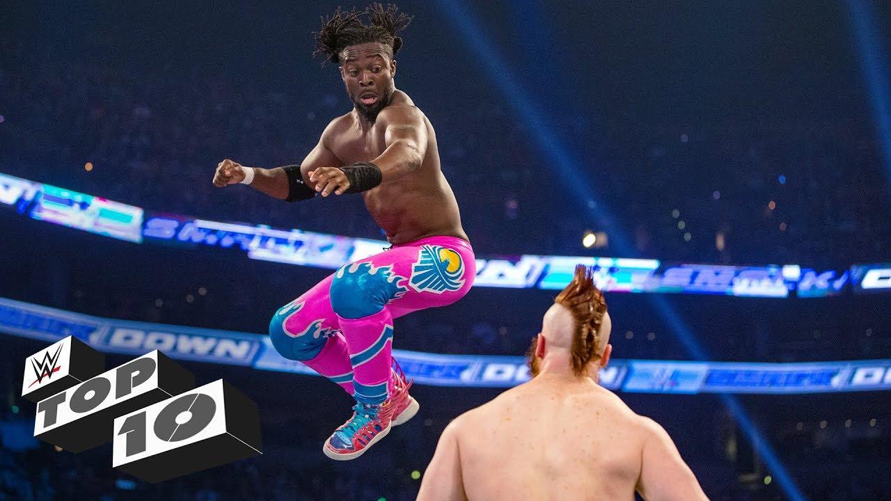 Download Kofi Kingston's wildest leaps: WWE Top 10, Feb. 25, 2019