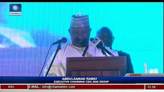 Chairman/CEO BUA Group, Rabiu Renders Welcome Address Pt.1 |Live Event|