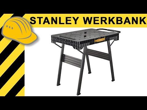 Geniale WERKBANK im TEST - hält sie wirklich 450KG aus?! Stanley FatMax Werkbank