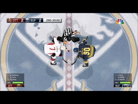 NHL 18 - Buffalo Sabres vs Ottawa Senators - Gameplay (HD) [1080p60FPS]