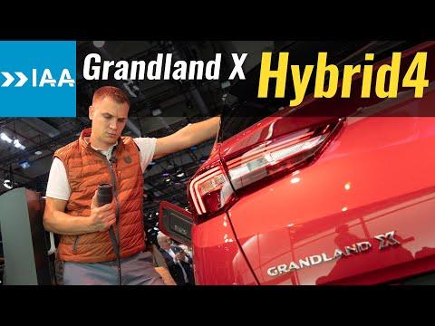 300 л.с.! Opel GrandLand X Hybrid4