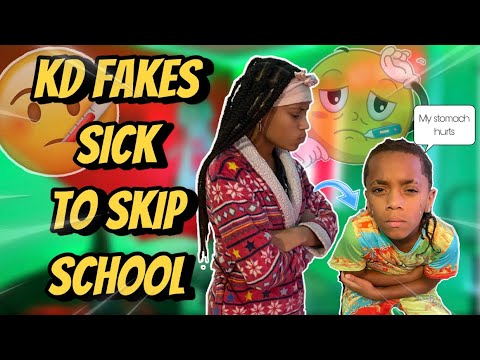 Download KD GETS A WHOOPING Ep.4 | FAKES SICK TO SKIP SCHOOl