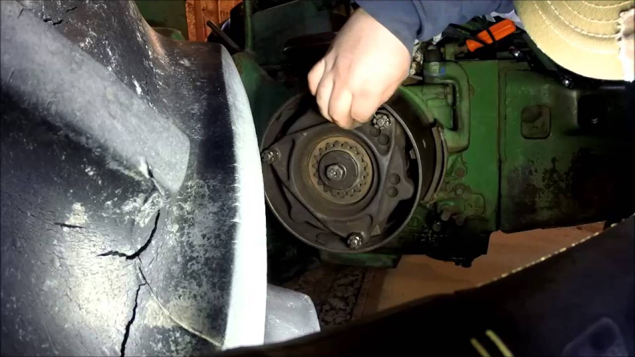 How to Adjust John Deere A, B, D, and G clutch  YouTube