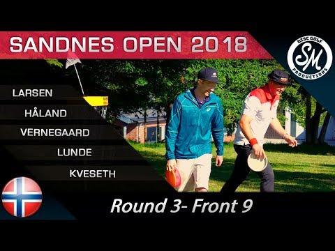 Sandnes Open 2018 | Round 3 Front 9 | Larsen, Håland, Vernegaard, Lunde, Kveseth