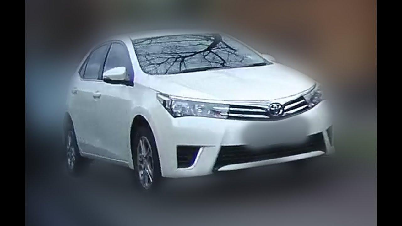 Brand New 2017 Toyota Corolla S Model Of