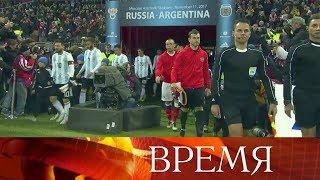 Главным событием года назвали болельщики матч Россия— Аргентина наобновленном стадионе «Лужники».