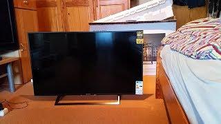 """#Unboxing Sony KD-43XE8005 108 cm (43 Zoll) Fernseher """"4K HDR"""" [HD]"""