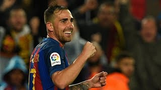 Paco Alcácer ● All Goals 2016/17 - FC Barcelona جميع أهداف باكو الكاسر