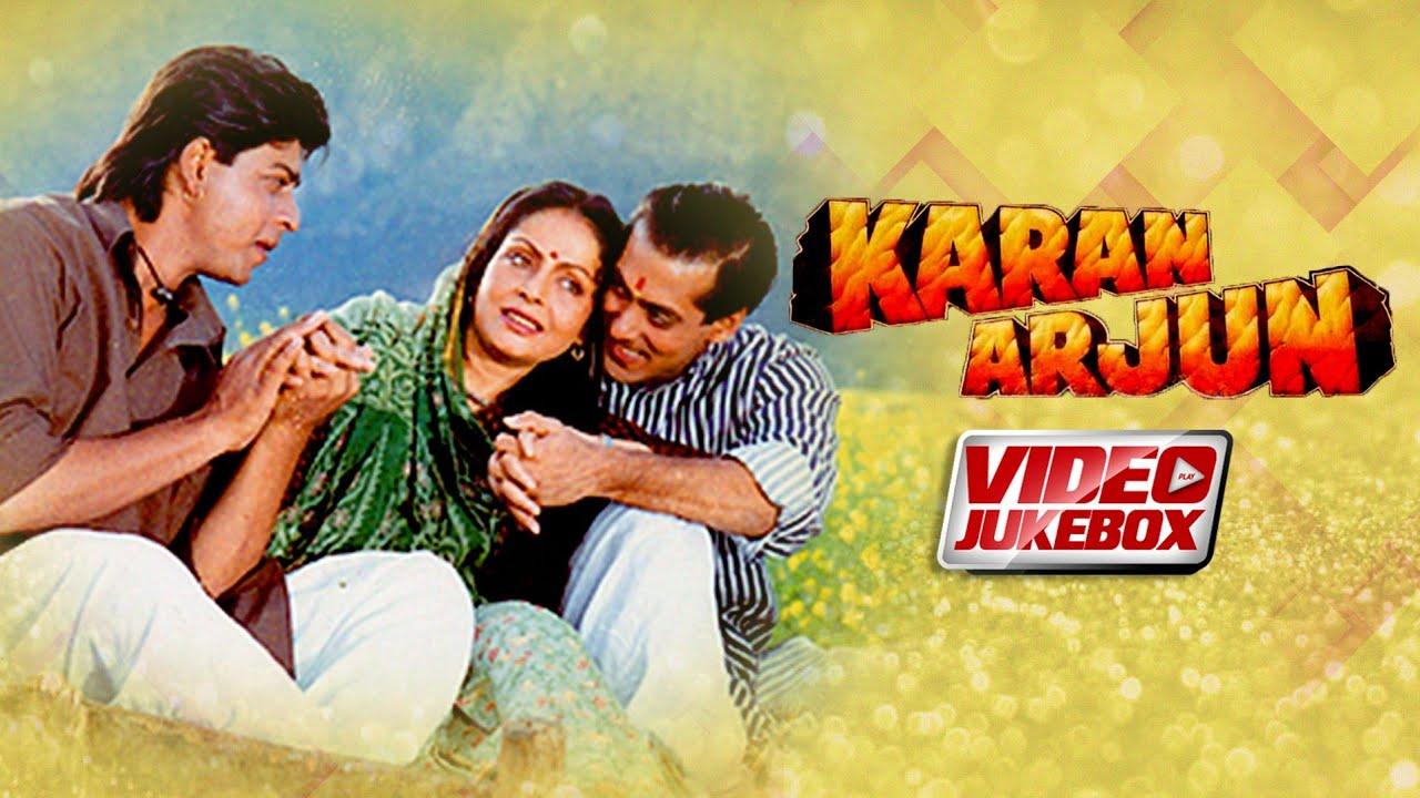Karan Arjun Full Video Songs | Salman Khan |  Shahrukh Khan | Kajol | Mamta Kulkarni | 90's Hits