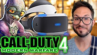 Un PlayStation VR 2 sans fil, COD Modern Warfare 4, Oddworld Soulstorm dévoilé...