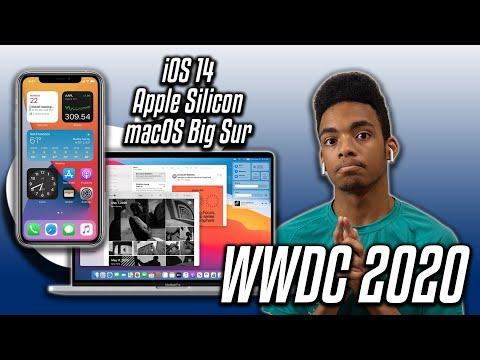 The REAL Highlights from Apple's WWDC 2020… (iOS 14, Apple Silicon, Big Sur)