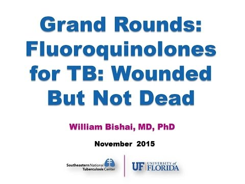 Grand Rounds: Fluoroquinolones for TB: Wounded but Not Dead