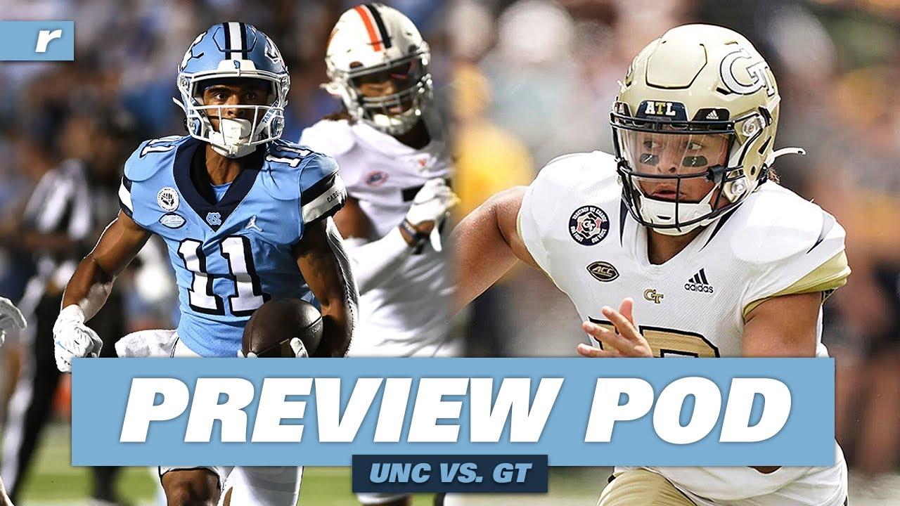 Video: UNC vs. Georgia Tech Preview Podcast