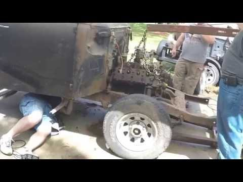 Rebuilding A 1951 Ford F1 - Part 1 Stripping And Prepping The Frame