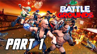 WWE 2K Battlegrounds - Gameplay Walkthrough Part 1 (No Commentary, PS4 PRO)