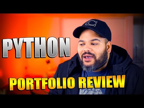 Portfolio Review for a Python Developer | #CodingPhase