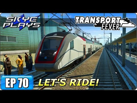 Transport Fever Let's Play / Gameplay Part 70 ►NEW MODS, NEW VEHICLES, NEW LINES - PART 2◀ (2093)
