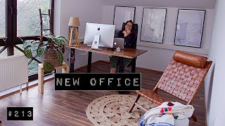Mein neues Büro I Home office I Weekly Bits & Pieces #213
