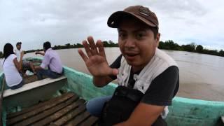 Río de Tempoal a más de 20 metros sobre su nivel