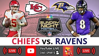 Chiefs vs Ravens Lİve Streaming Scoreboard, Play-By-Play, Highlights, Stats, Updates, NFL Week 2 SNF