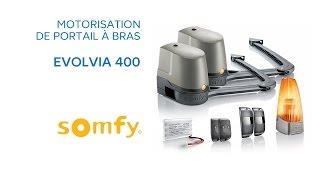 Motorisation De Portail A Bras Evolvia 400 Somfy 588514 Castorama Youtube